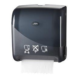 Towel Dispenser Euro Matic Autocut Pearl Black