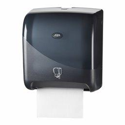 Towel Dispenser Euro Tear&go Pearl Black - Horecavoordeel.com