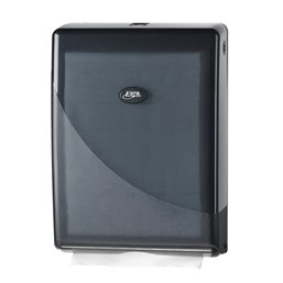 Towel Dispenser Euro Mini Fold Pearl Black - Horecavoordeel.com