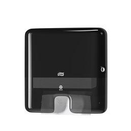 Handdoek dispenser Tork H2 Zwart Z-vouw Mini