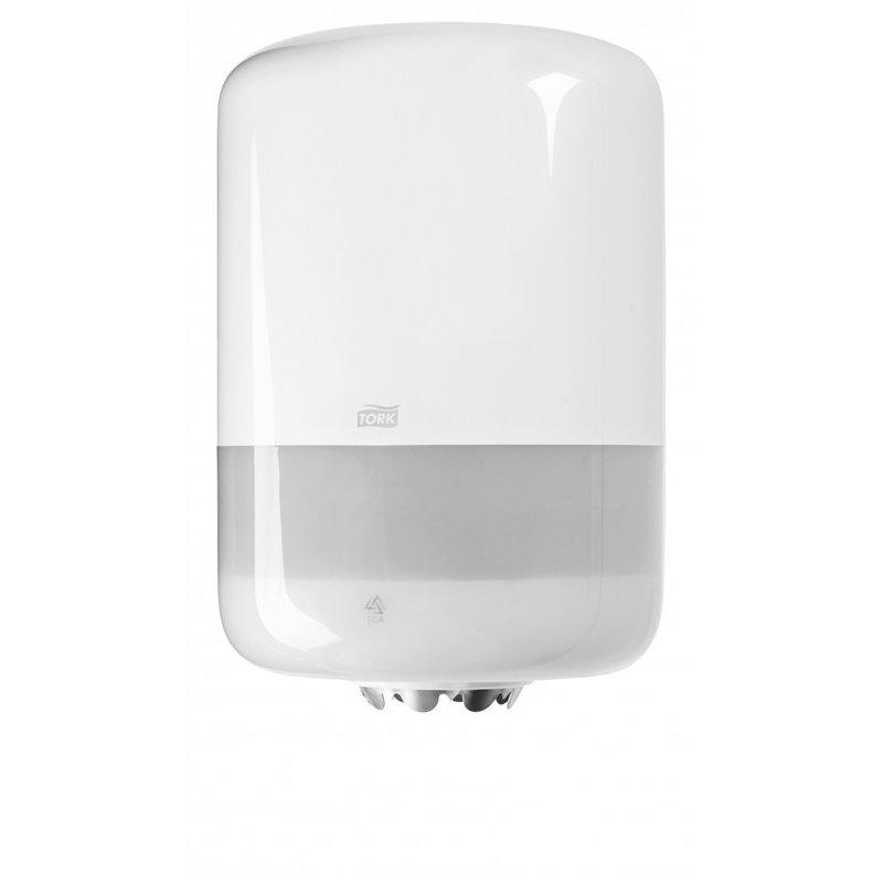 Paper Roll Dispenser Tork Centerfeed Midi White - Horecavoordeel.com