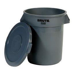 Garbage bin Rubermaid Brute 75 Liter With a lid - Horecavoordeel.com