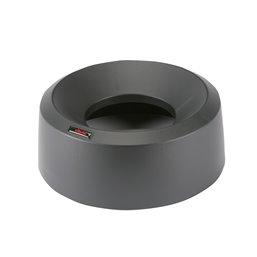 Lid Round for Vileda Iris Garbage bin Metalic-Black 50 Liter