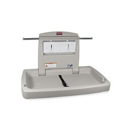 Baby Changing Table Rubbermaid Gray Horizontal