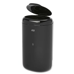 Garbage bin Tork 5 Liter With a lid Black - Horecavoordeel.com