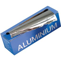 Aluminium Folie 450 mm x 150m Dispenserdoos Overdoos