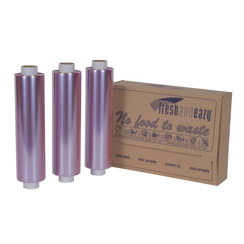 Catering- Cling Folie PVC Navulling 300mm x 300 meter  Horecavoordeel.com