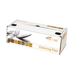 Catering- Cling Folie PVC Dispenserdoos 300mm x 300 meter