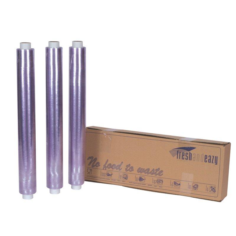 Catering- Cling Folie PVC Geperforeerd Navulling 450 x 450mm x 500 meter Horecavoordeel.com