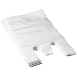 Shirt bag White 27+2x6x48cm 10my