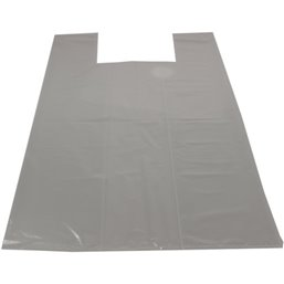 Shirt bag Shopper Transparent 37+(2x17)x70cm 50my