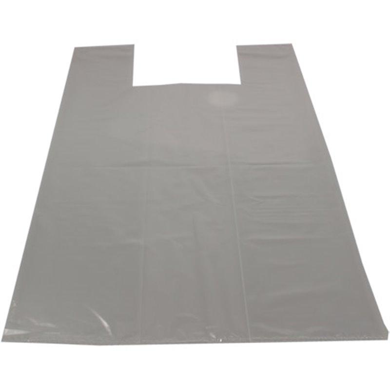 Shirt bag Shopper Transparent 37+(2x17)x70cm 50my - Horecavoordeel.com