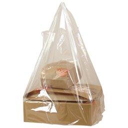 Shirt bag Transparent 30+20x60cm 25my