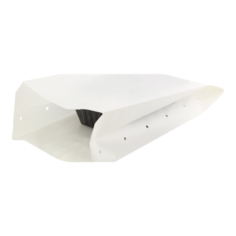 Snack bag Nr27 500 gram White Ersatz (+ Perforation holes) - Horecavoordeel.com