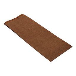 Levensmiddelenzakken Papier Nr10 Bruin 190 + 50 x 490mm