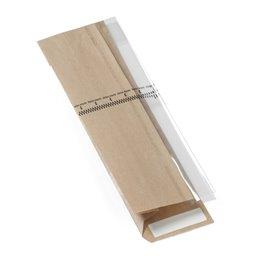 Window bag With zipper 340x110x60mm - Horecavoordeel.com