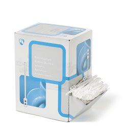 Roerstaafjes Plastic Wit 110mm (Klein-verpakking)