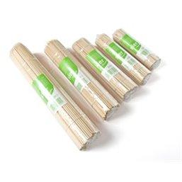 Saté Bamboe Prikkers Ø 2,5 x 180mm