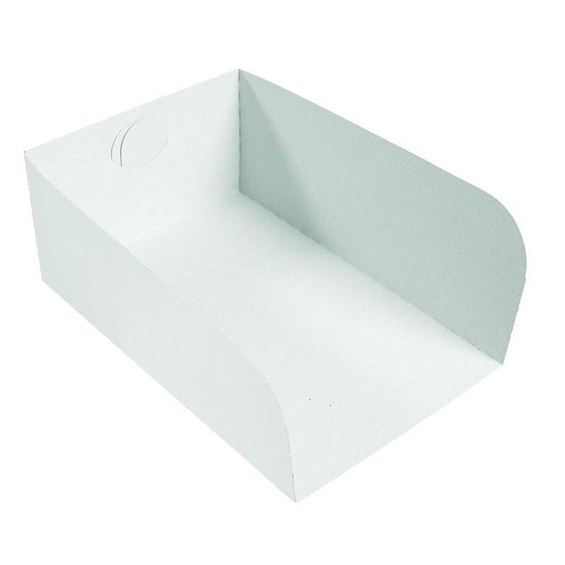 Insert Cardboard White 0,5 Pond 150x100x80mm  - Horecavoordeel.com