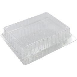 Gebaksdozen Plastic Transparant 200 x 200 x 50mm
