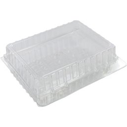 Pastry Boxes Plastic Transparent 200x200x50mm