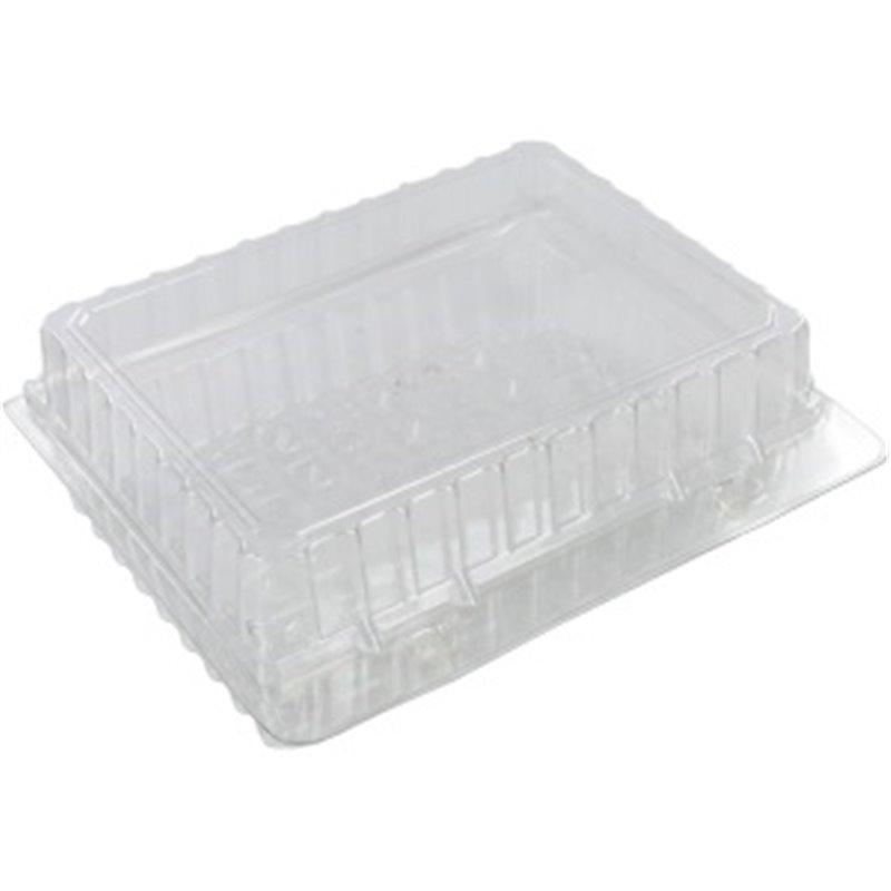 Pastry Boxes Plastic Transparent 200x200x50mm - Horecavoordeel.com