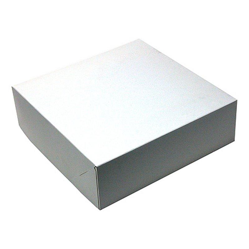 Pastry Boxes White 25x25x8cm - Horecavoordeel.com