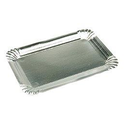 Vleeswarenschaaltjes Karton Aluminium Gevoerd 100 x 160mm