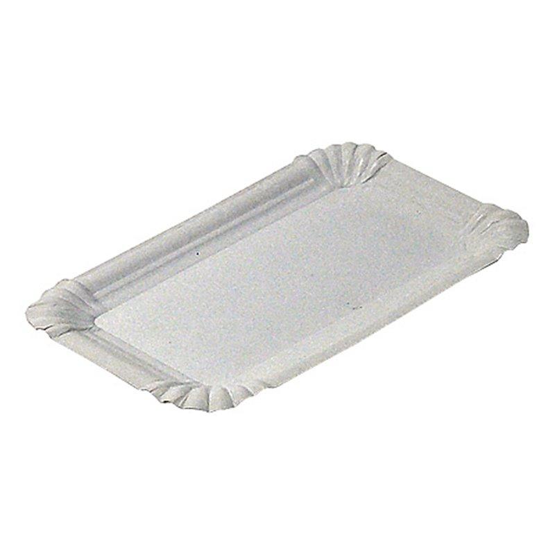 Meat Platter made from Cardboard white unlined 12x18cm - Horecavoordeel.com