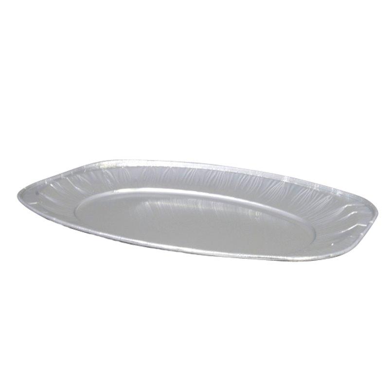 Catering platters - trays Aluminium 35cm (Small package) - Horecavoordeel.com