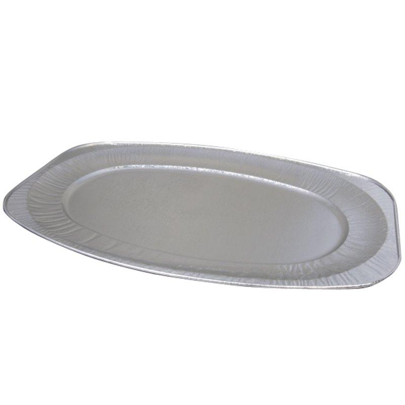 Catering platters - trays Aluminium 55cm (Small package) - Horecavoordeel.com