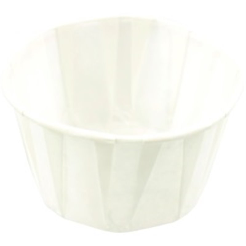 Sauce cup white paper 60cc - Horecavoordeel.com