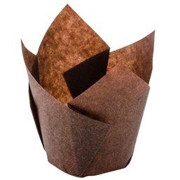 Bakvormen voor Muffins Bruin
