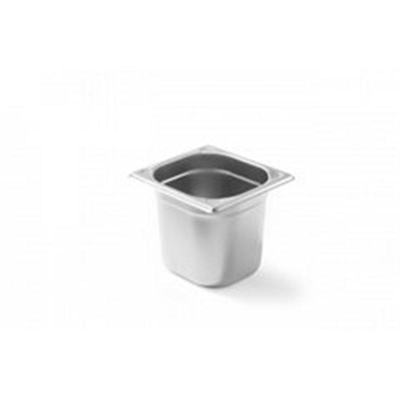 Gastronorm container 1-6 150mm stainless steel - Horecavoordeel.com
