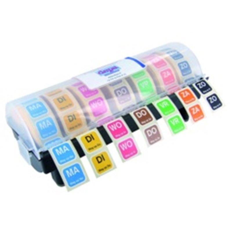 Dagstickers Dispenserdoos Leeg 19 x 19mm Horecavoordeel.com