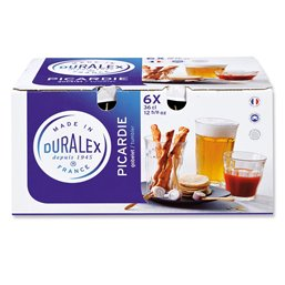 Glasses Duralex 360cc