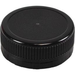 Doppen Zwart voor Pet Flessen Ø 38mm (Klein-verpakking)
