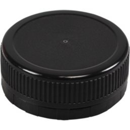 Cap Black for Juice Bottles 38mm