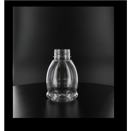 Pet Bottle Transparent 250cc little bulb