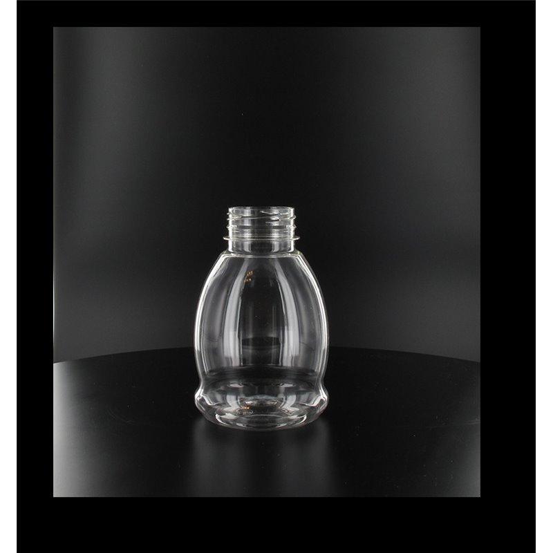 Pet Bottle Transparent 250cc little bulb  - Horecavoordeel.com