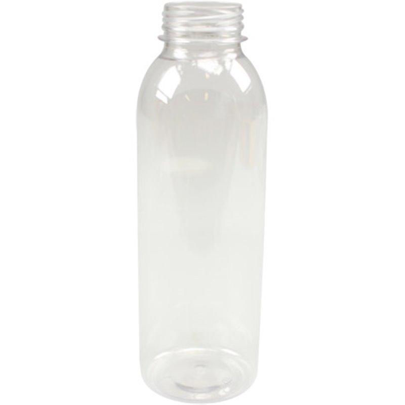 Pet Bottle Transparent 750cc 38mm - Horecavoordeel.com