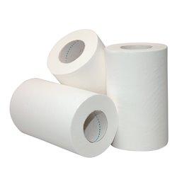 Poetsrol Mini Recycled Wit Met Koker 1laags 20cm x 120m