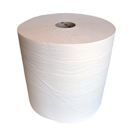 Poetsrol Cellulose 1 Laags Wit 700m x 26cm
