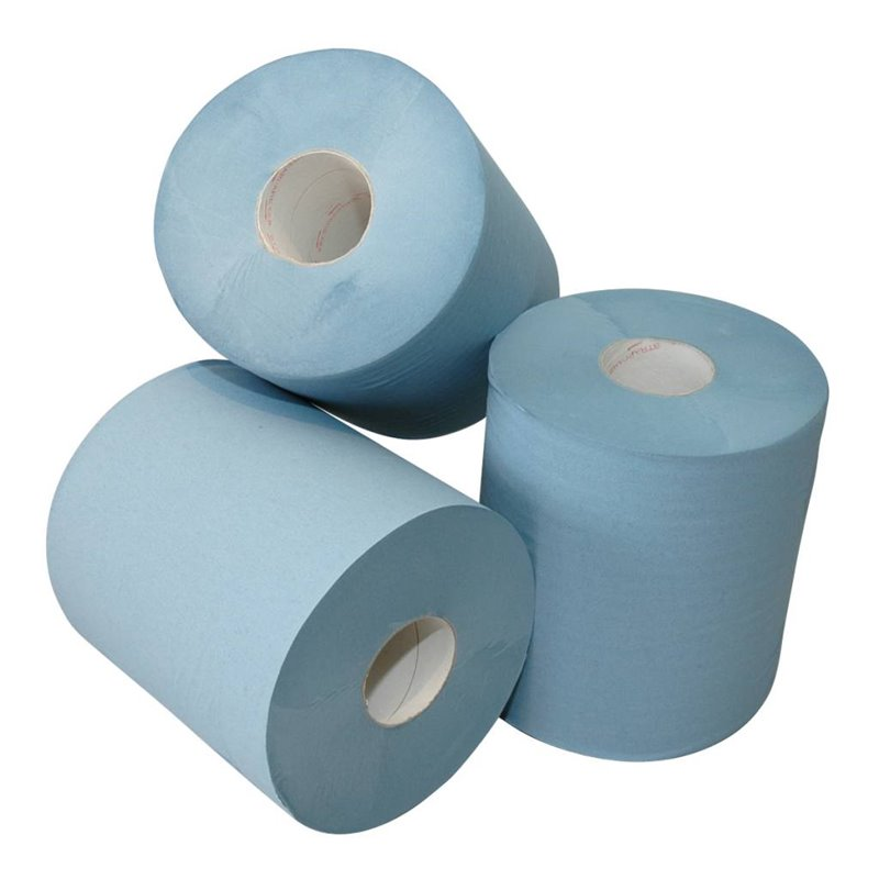 Cleaning Roll Blue Midi 2 layer (EM) 150m 400 Sheets  - Horecavoordeel.com