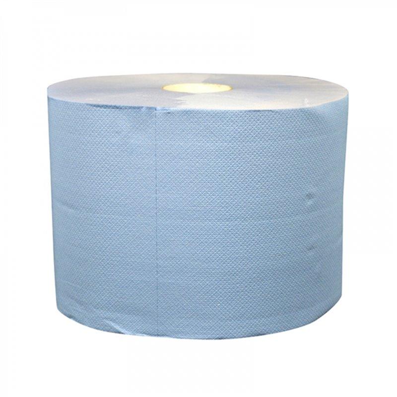 Industrial Roll Blue 2 layer 22cm 380m - Horecavoordeel.com