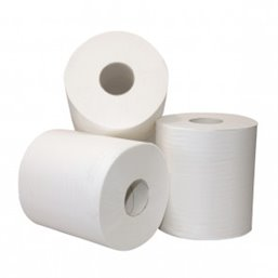 Cleaning Roll 2-layer White Recycled (EM) 135m 365 Sheets