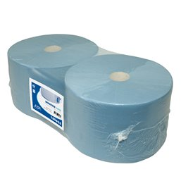 Poetspapier Euro Cellulose 3 Laags Blauw