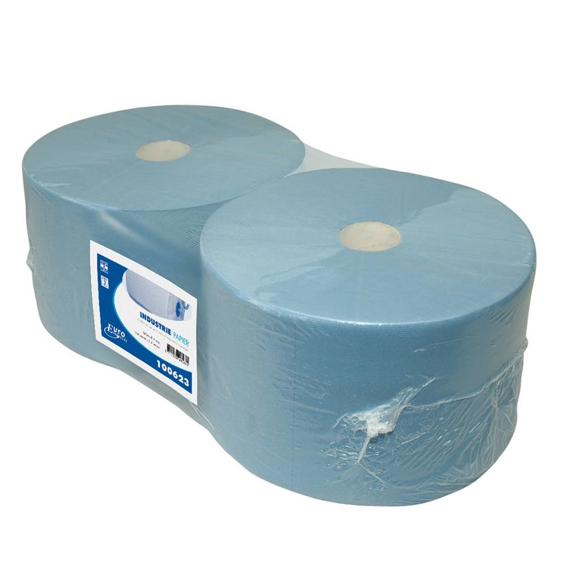 Cleaning Roll Euro Cellulose 3 layer Blue - Horecavoordeel.com
