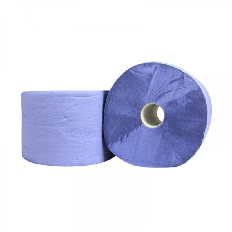 Industrierol Blauw 3 Laags 22cm 380m Horecavoordeel.com