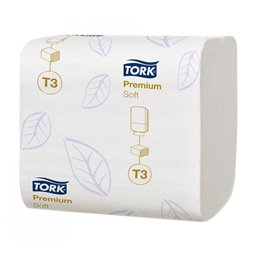 Toilet paper Tork T3 Bulkpack 2 Layers 30x252 Sheets